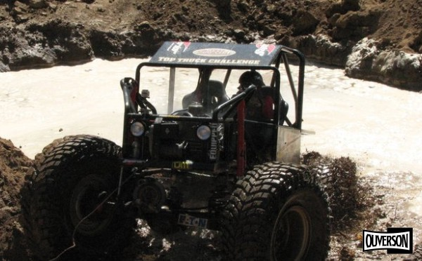 Alex Sanders rock crawler